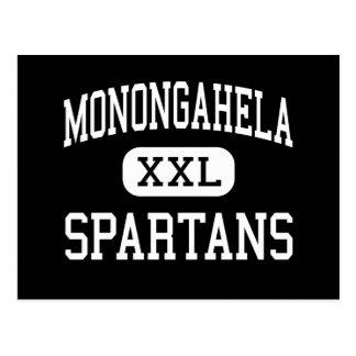 Monongahela - Spartans - Junior - Sewell Postcard