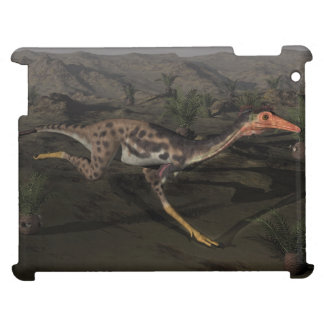 Mononykus dinosaur by night case for the iPad