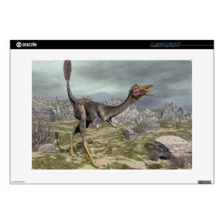 """Mononykus dinosaur in the desert - 3D render Decal For 15"""" Laptop"""