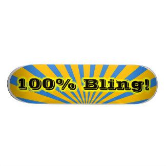 Monopatín 100 de Bling