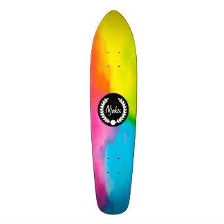 """Monopatín #2. de la """"guirnalda"""" del teñido anudado skate boards"""