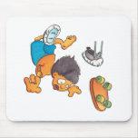 Monopatín #5 alfombrilla de ratones