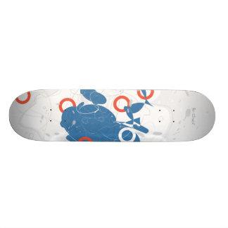 Monopatín abstracto de Suzukigo Skateboard