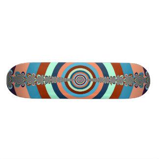 Monopatín abstracto del tablero de dardo skate board