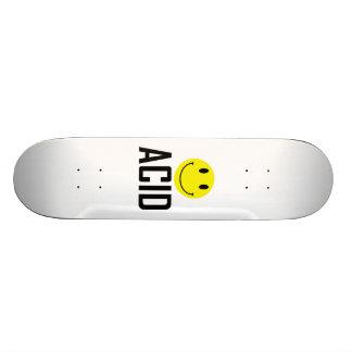 Monopatín ácido tabla de skate