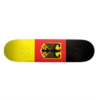Monopatín alemán de la bandera skate boards