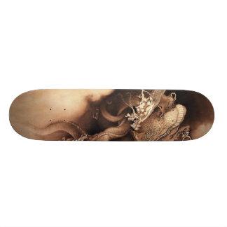 Monopatín asiático del dragón patines personalizados