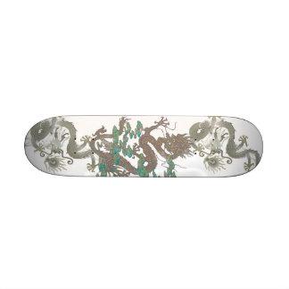 Monopatín asiático del dragón patinetas personalizadas