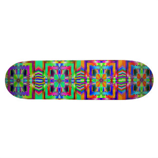 Monopatín asombroso del fractal tabla de skate