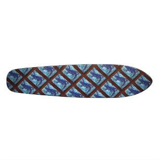 Monopatín azul del Gecko