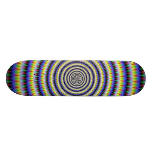 Monopatín Boggling de los círculos del ojo Skateboards