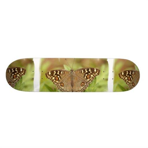 Monopatín bonito de la polilla patines