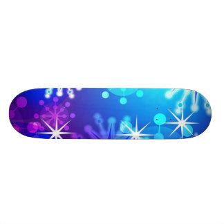 monopatín brillante patines