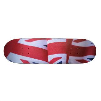"""monopatín británico 8-1/2 de dos banderas """" skateboards"""