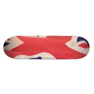 """monopatín británico 8-1/2 de la bandera patineta 8 1/8"""""""