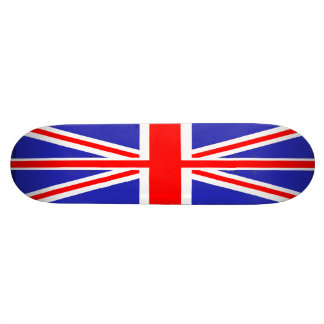 Monopatín británico de la bandera de Union Jack Patin Personalizado