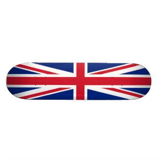 """Monopatín británico de la bandera patineta 7 7/8"""""""