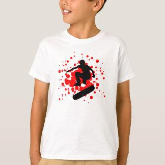 monopatín. burbujas camisas