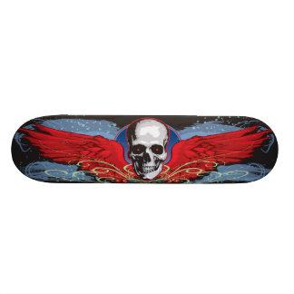 """Monopatín con alas del cráneo patineta 7 1/4"""""""