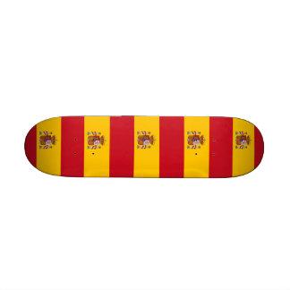 Monopatín con la bandera de España