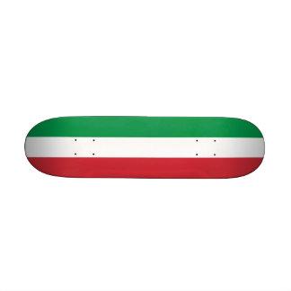 Monopatín con la bandera de Italia Tabla De Skate