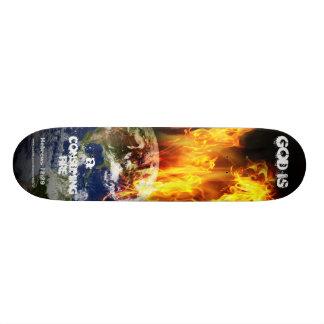 Monopatín consumidor del fuego patin