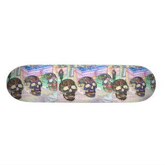 Monopatín de 8 cráneos patines personalizados