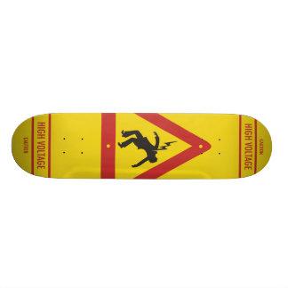 Monopatín de alto voltaje tablas de patinar