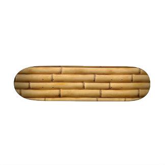 Monopatín de bambú mini skate board