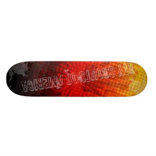 Monopatín de BSA Tablas De Skate