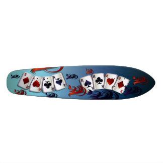 Monopatín de cuatro as tablas de skate