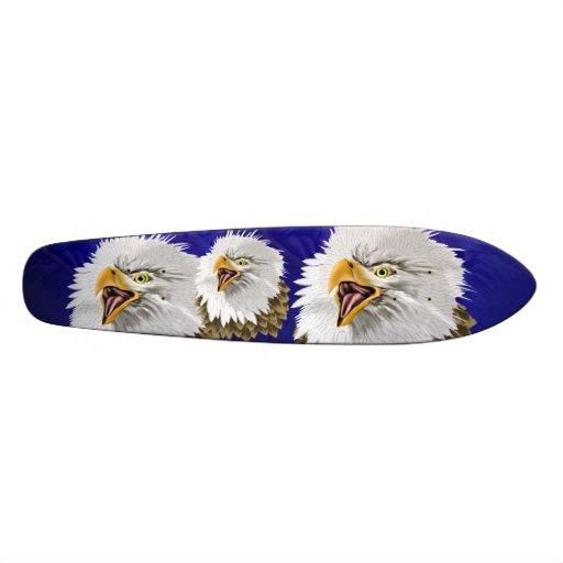 Monopatín de Eagle calvo
