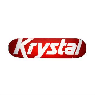"Monopatín de Krystal Patineta 8 1/8"""