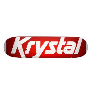 Monopatín de Krystal Skateboards