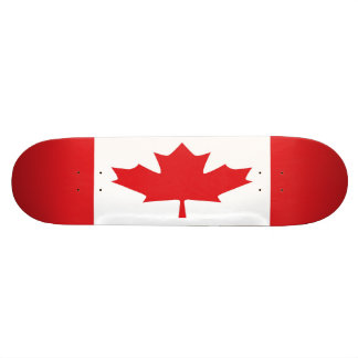 Monopatín de la bandera de Canadá Patin