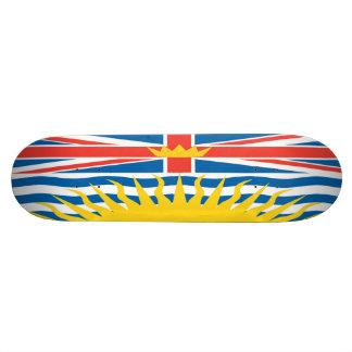 Monopatín de la bandera de la Columbia Británica Monopatin Personalizado
