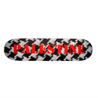 """Monopatín de la bufanda de Palestina Patineta 8 1/2"""""""