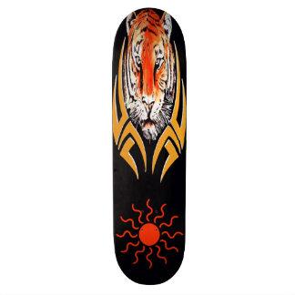 Monopatín de la cara del tigre patinetas personalizadas