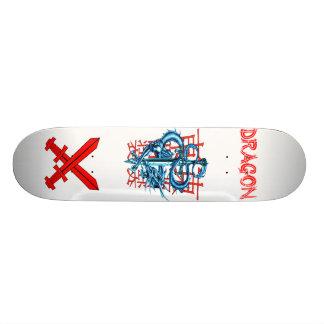 Monopatín de la espada del dragón skateboards