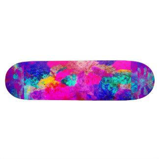 Monopatín de la explosión del color patines personalizados
