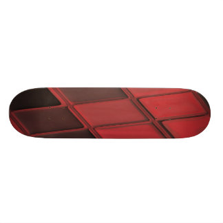 Monopatín de la exposición del teclado tabla de skate