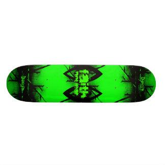 Monopatín de la fe tablas de patinar