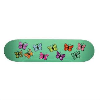 Monopatín de la fila de la mariposa tabla de patinar