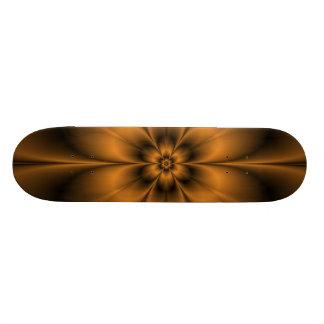 Monopatín de la flor del oro