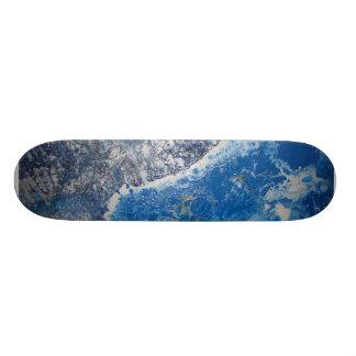 Monopatín de la fuerza de marea patineta personalizada