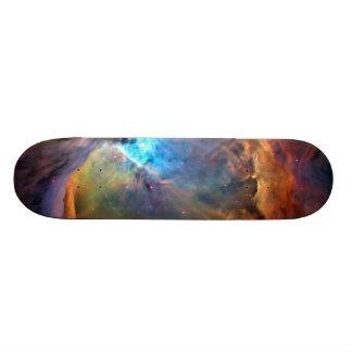 Monopatín de la galaxia del espacio de la nebulosa tabla de patinar