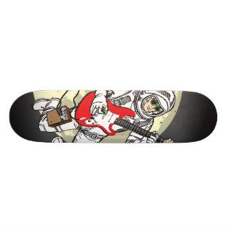 Monopatín de la música del atasco del espacio skate board