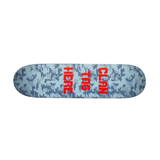 Monopatín de la nieve del ejército tabla de patinar