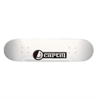 Monopatín de la obra clásica del cártel patines personalizados