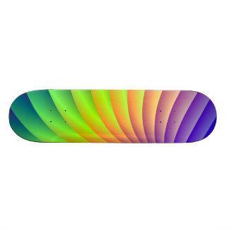 Monopatín de la onda del color